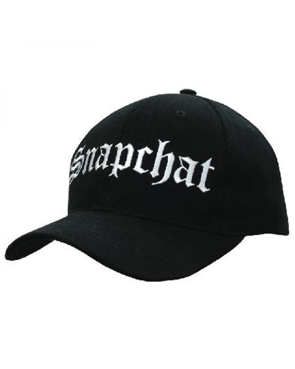 Brushed Heavy Cotton With Snap Back