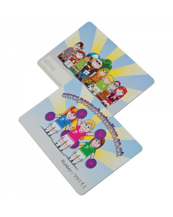 Printed Plastic Cards (125 x 80mm 0.76mm thick)