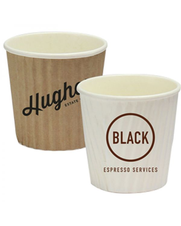 4oz Rippled Simplicity Paper Cup