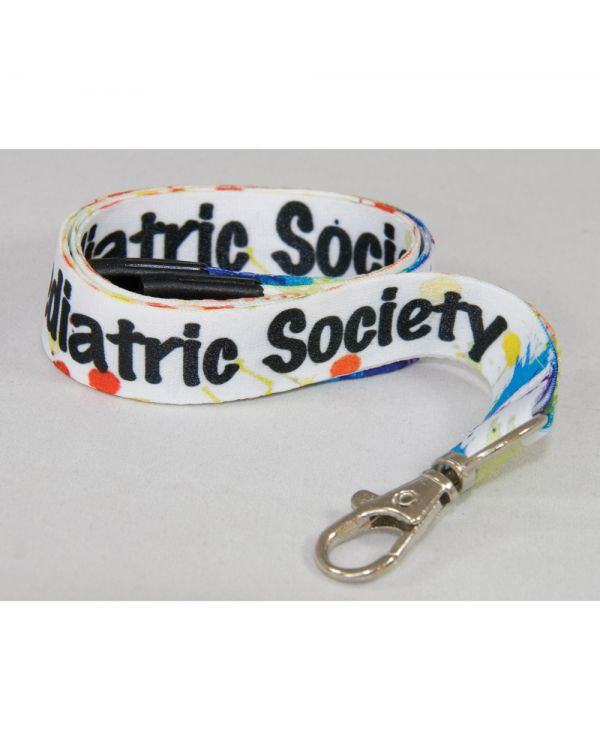 UK Manufactured Full Colour Dye Sub Lanyard