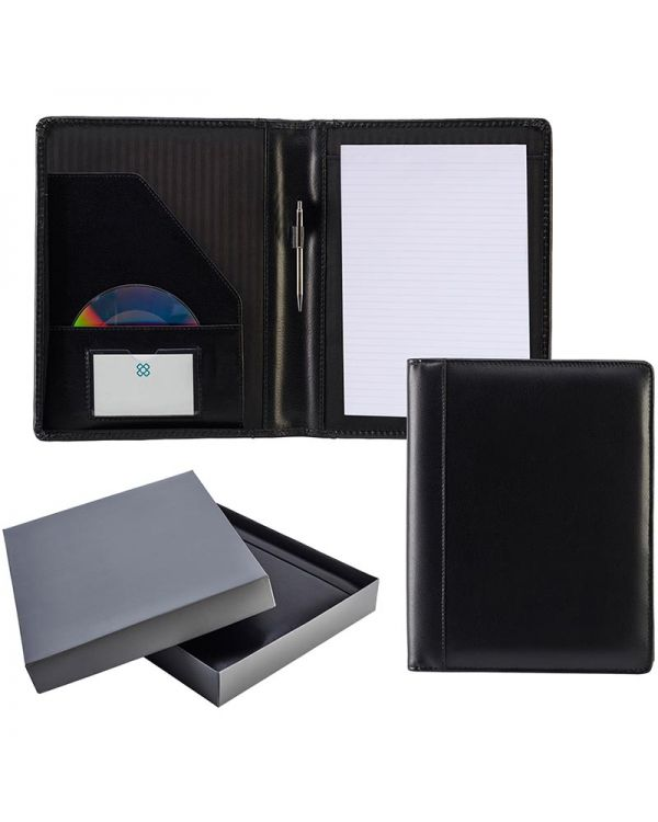Chartwell Leather A4 Deluxe Folder