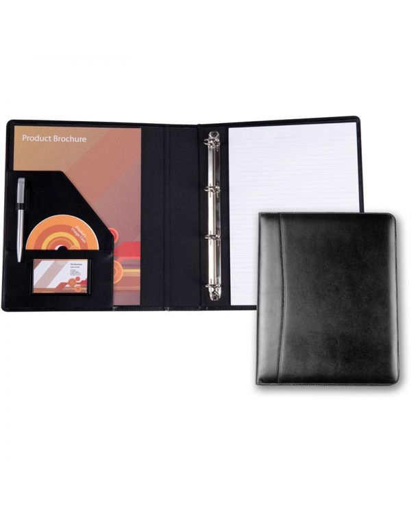 Chartwell Leather A4 Ring Binder