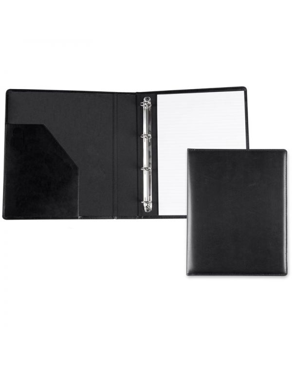 Recycled Leather A4 Ring Binder