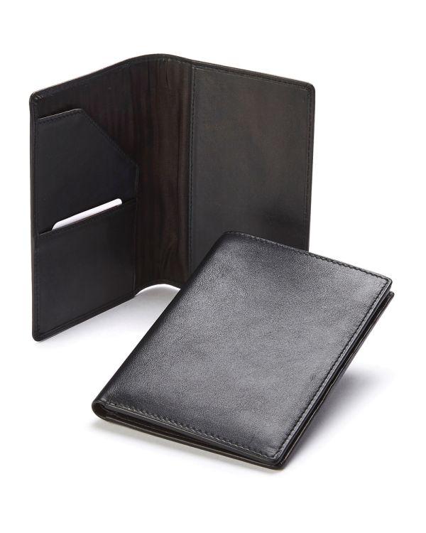 Sandringham Nappa Leather Passport Case