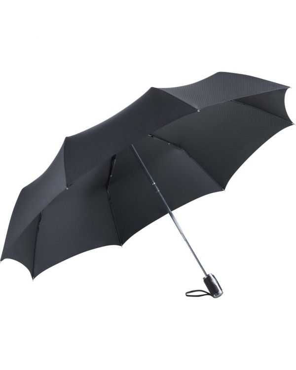 FARE Jumbomagic Windfighter AOC Golf Mini Umbrella With Leather Trim Handle