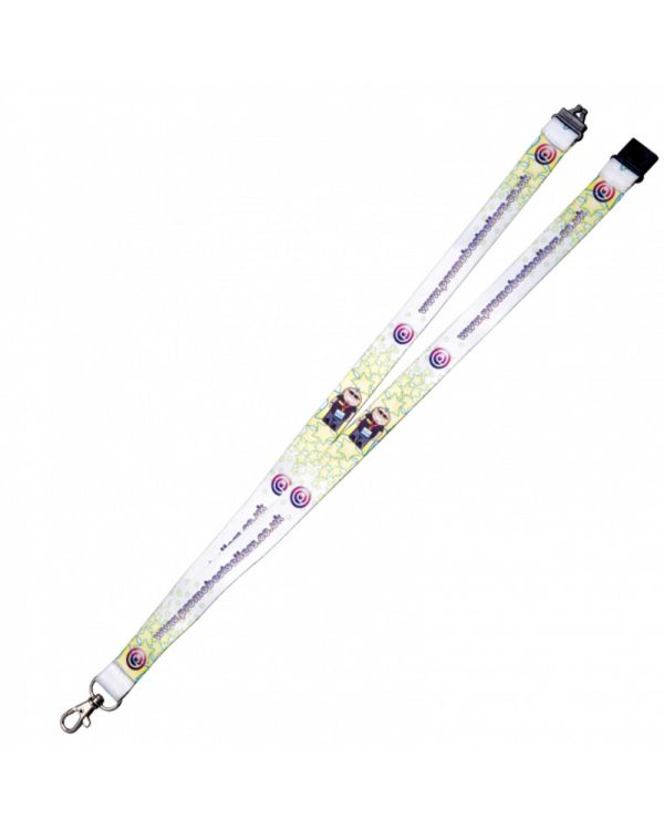 10mm Dye Sublimation Print Lanyard
