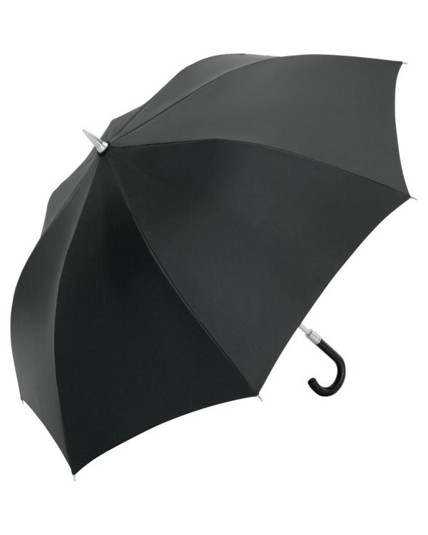 FARE Exclusive Alu AC Golf Umbrella With Leather Crook Handle