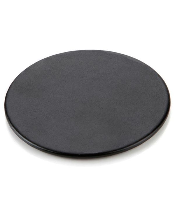 Woburn Leather Round Coaster