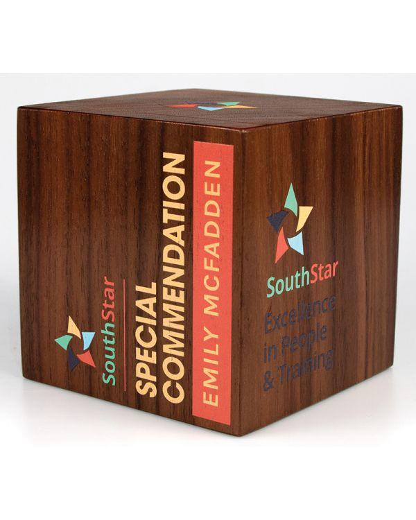 Real Wood Cube Awards