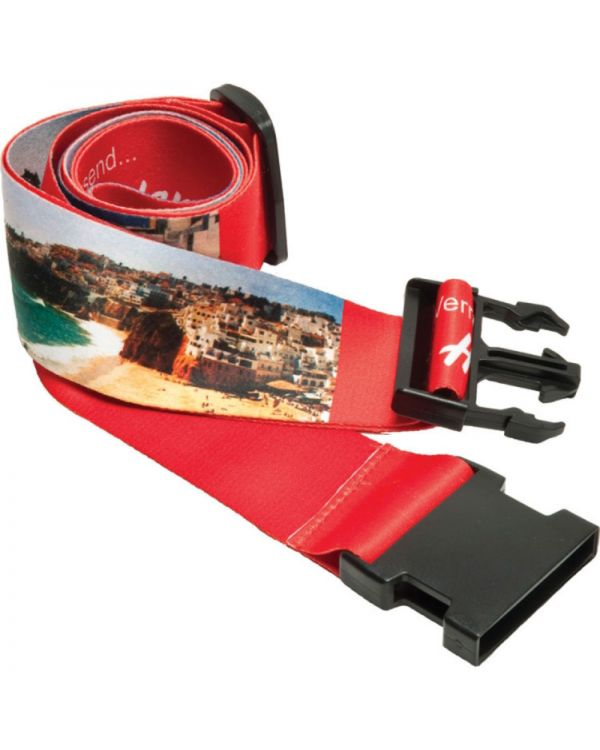 Luggage Strap with Integral Address Tag (Dye Sublimation)