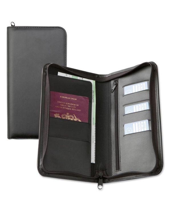 Optimum Zipped Travel Wallet