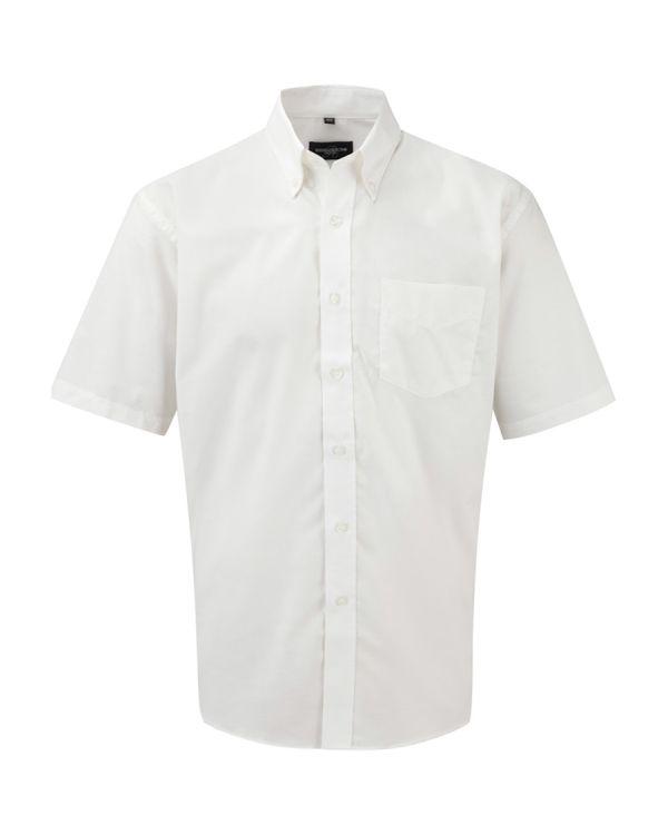 Formal Oxford Shirt Short Sleeve