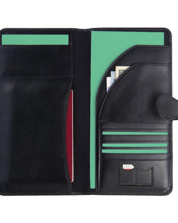 Malvern Leather Travel Wallet