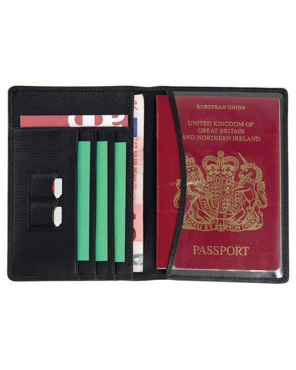 Melbourne Leather Passport Wallet