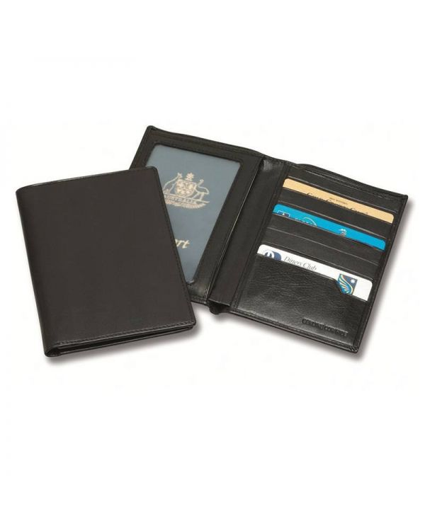 Sandringham Nappa Leather RFID Passport Wallet