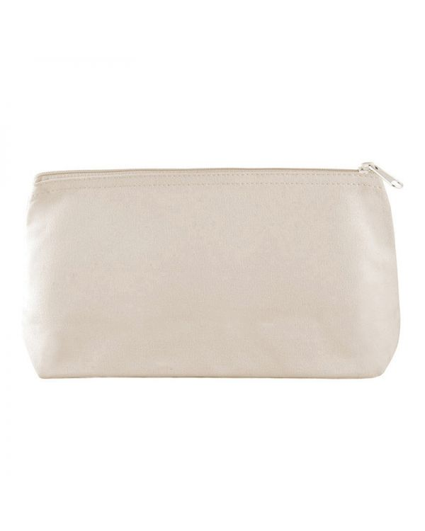Simu Canvas Cosmetic Pouch