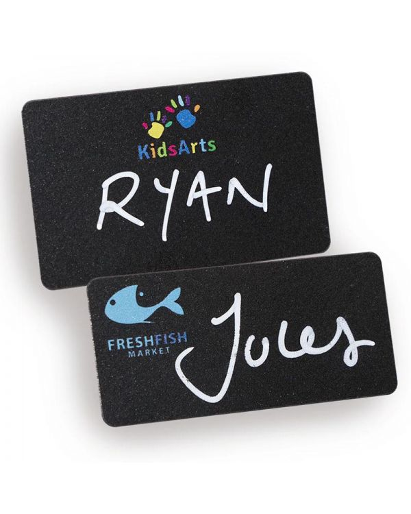 Blackboard Reusable Name Badges