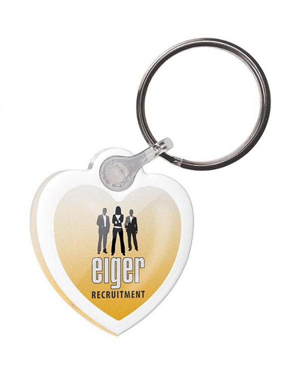 Acrylic Keyring, Double Sided