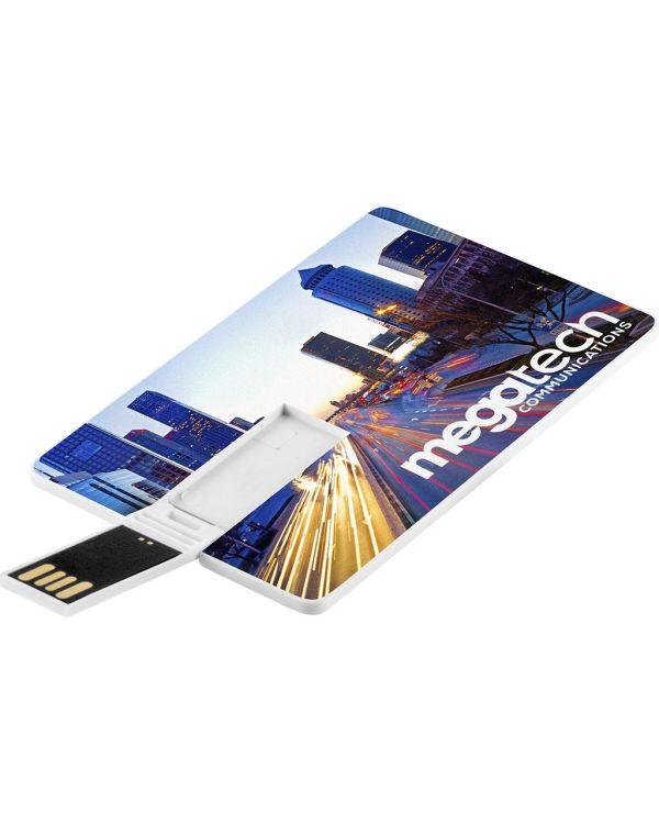 Credit Card USB Flash Drive - 4GB