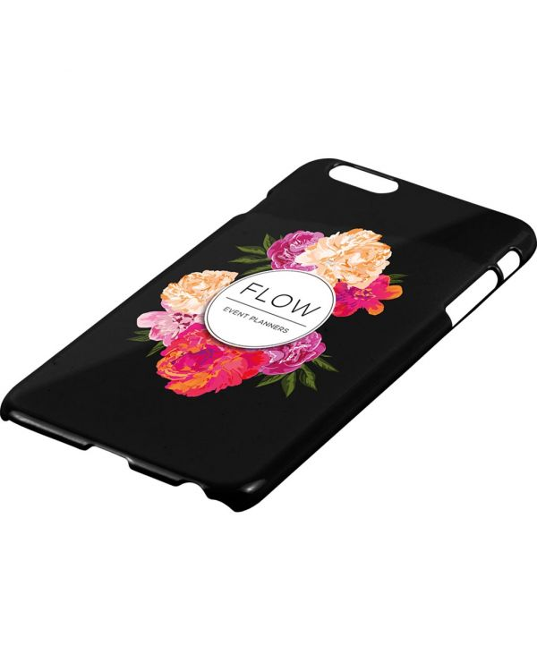 iPhone 5, 6, 7, 8 or X Case - Hard Shell Black or Transparent