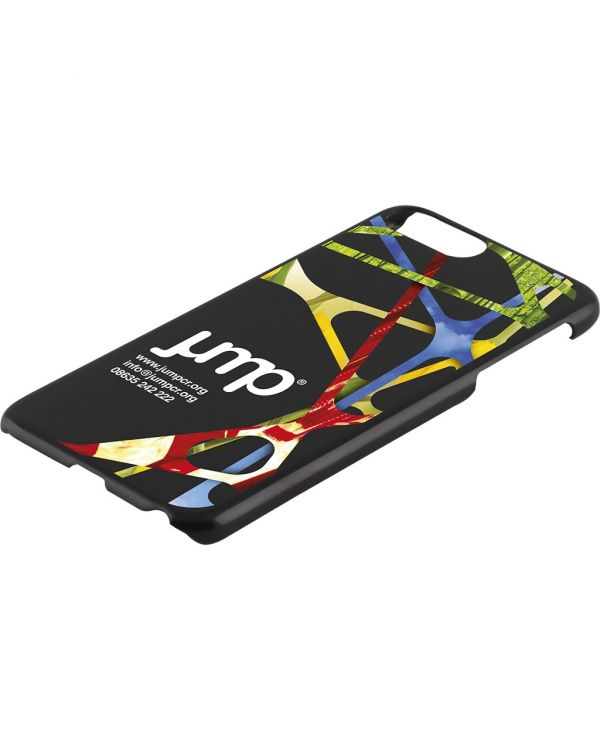 iPhone 6, 7 or 8 Plus Case - Black or Transparent Hard Shell