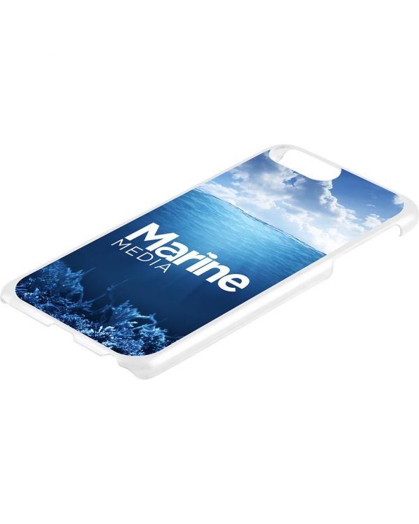 iPhone 6, 7 or 8 Plus Case - White Hard Shell