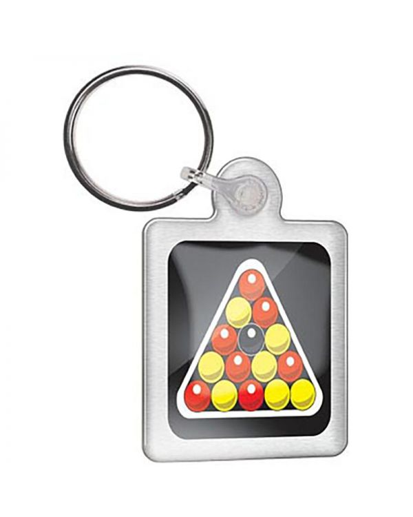 Metal Keyring, Double Sided