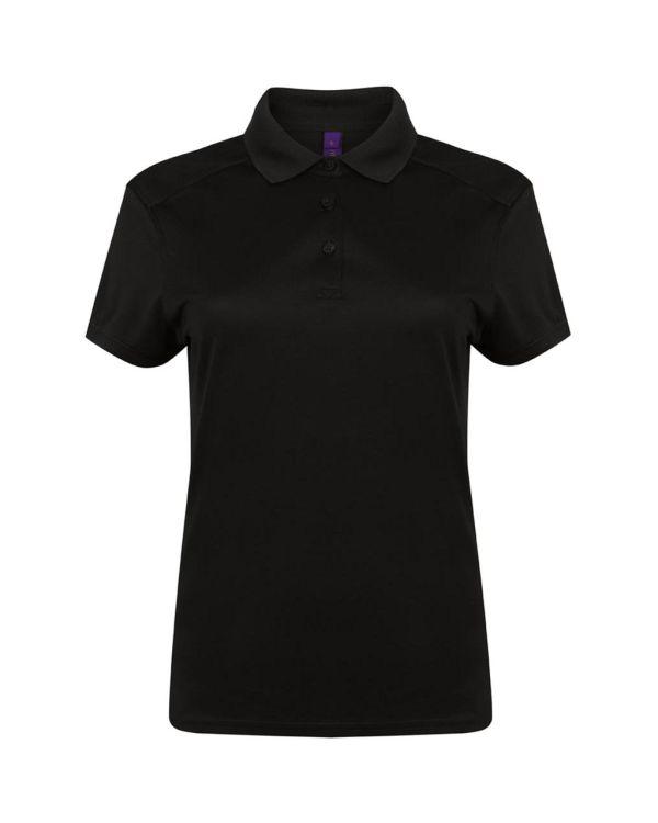 Henbury Stretch Microfine Pique Women's Golf Polo