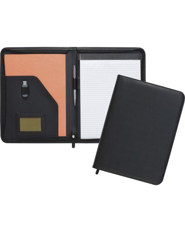Dartford A4 Zipped Folder