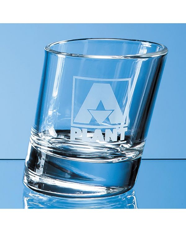 50ml Slanted Tot Glass