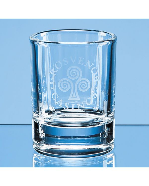 50ml Round Hot Shot Tot Glass