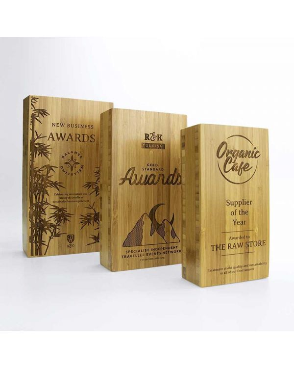 Bamboo 80mm x 150mm Block Awards