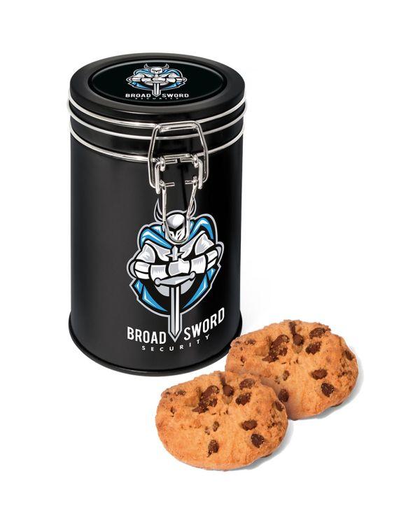 Flip Top Tin - Black - Maryland Cookies
