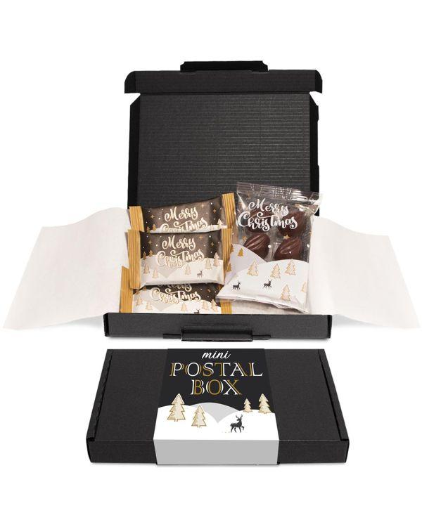 Winter Collection 2020 – Mini Black Postal Box - x4 Items