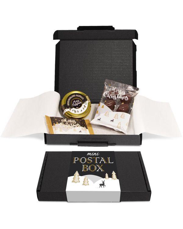 Winter Collection 2020 – Mini Black Postal Box - x3 Items