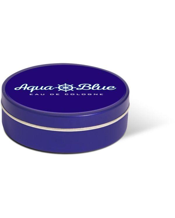 XS Peppermint Tin - Blue - Paper Label