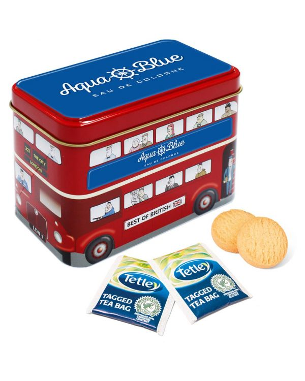 Bus Tin - Tea & Biscuits