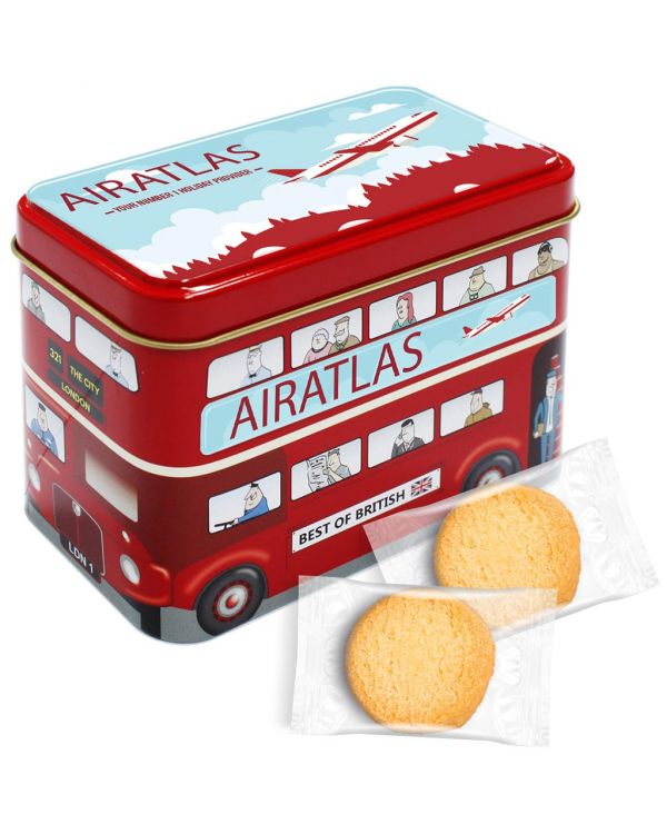 Bus Tin - Mini Shortbread Biscuits