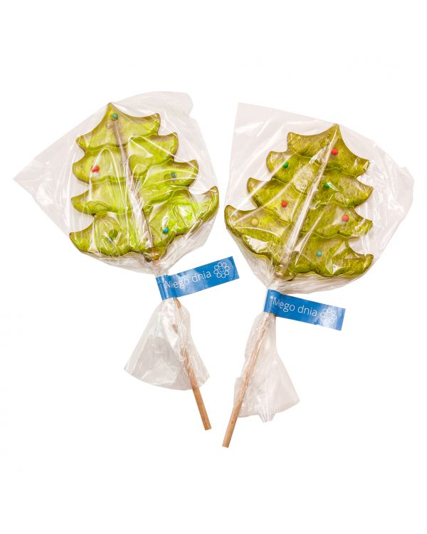 Christmas Tree Lollipop