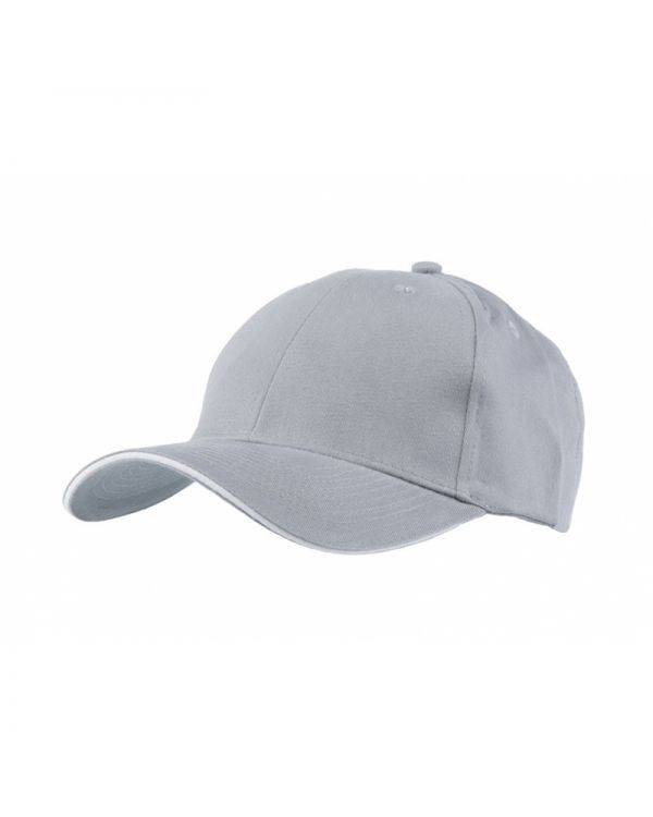 Sandwich Trim Cotton Cap