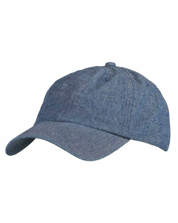Chambray Denim Unstructured Cap
