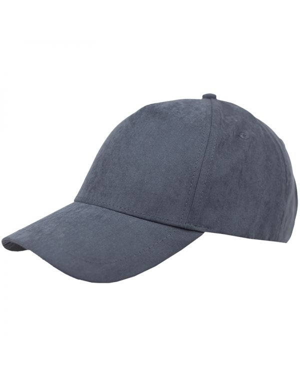 Five Panel Heavy Washed Suede Cap