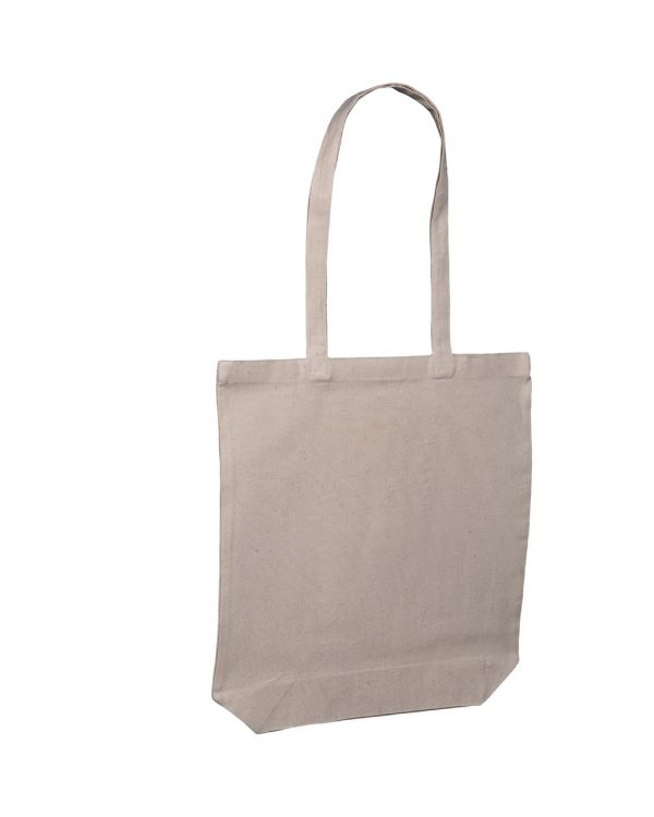 8oz Canvas Shopper Bag - with Full Gussett