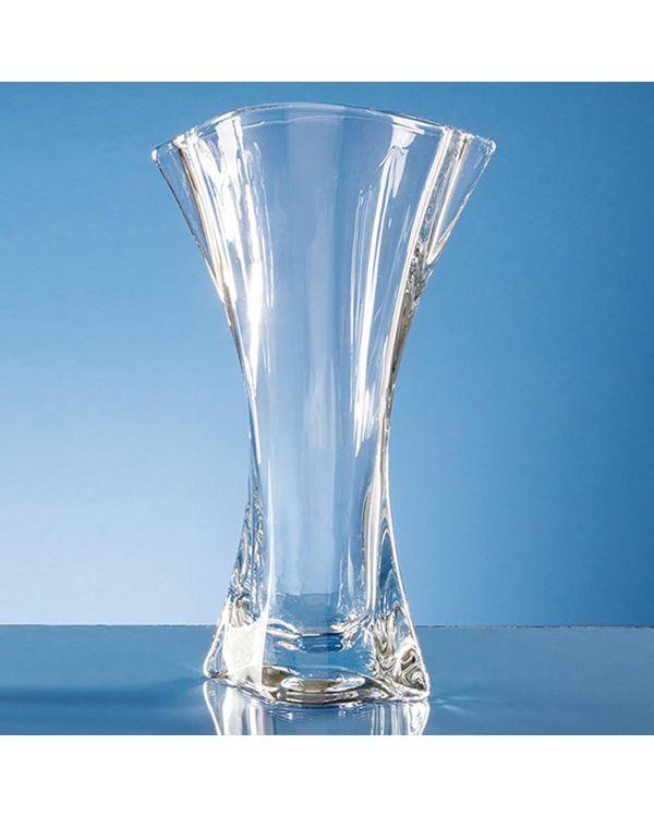 31.5cm Crystalite Flared Orbit Vase