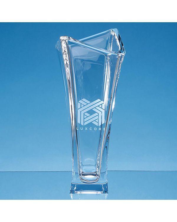 35cm Crystalite Majestic Tapered Vase