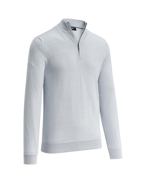 Callaway Gent's Windstopper Quarter Zipped Golf Sweater With Embroidery To 1 Position