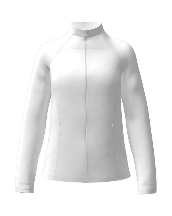 Callaway Women's Full Zip Windwear Golf Jacket With Embroidery To 1 Position