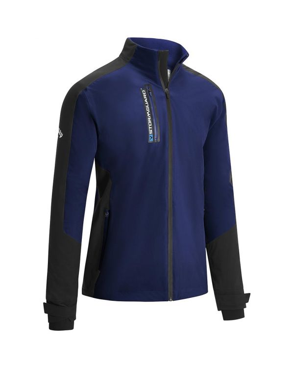 Callaway Gent's Stormguard Waterproof Golf Jacket With Embroidery To 1 Position