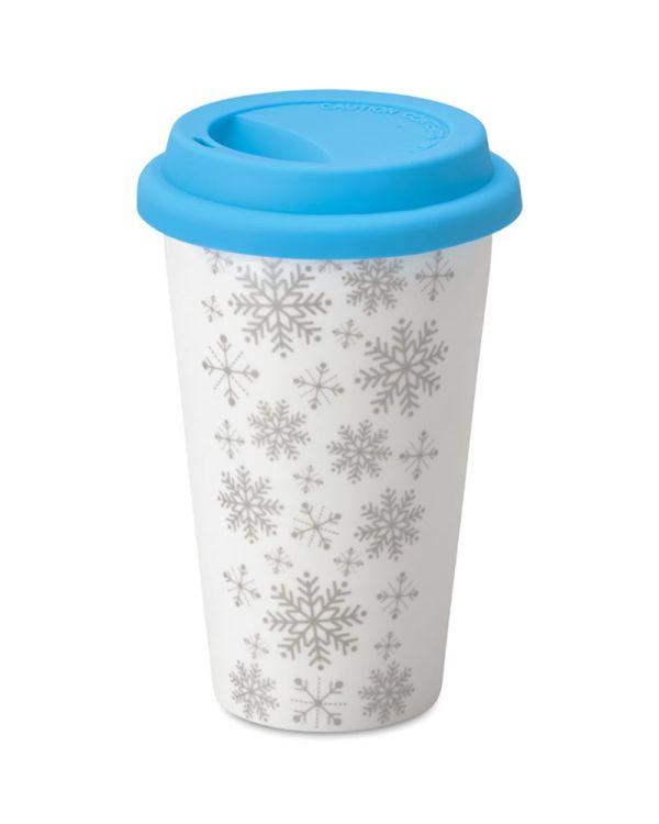 Sondrio Double Wall Ceramic Travel Cup