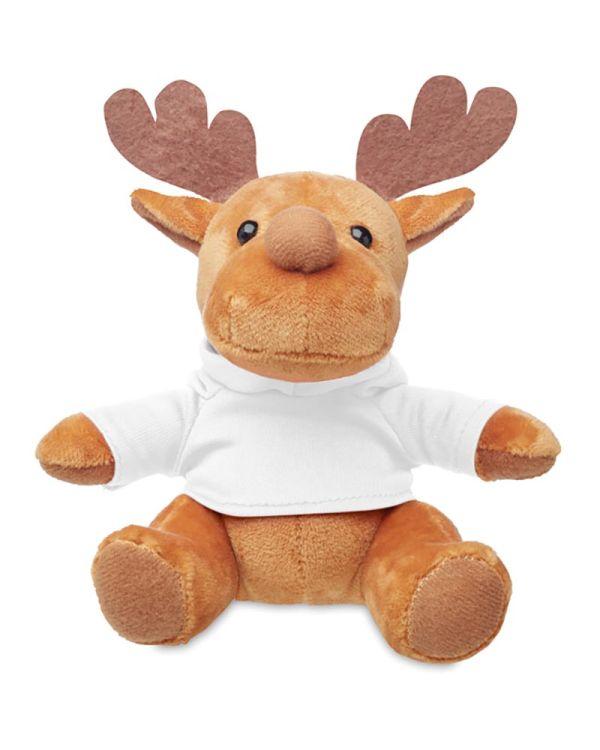 Rudolph Plush Reindeer With Hoodie